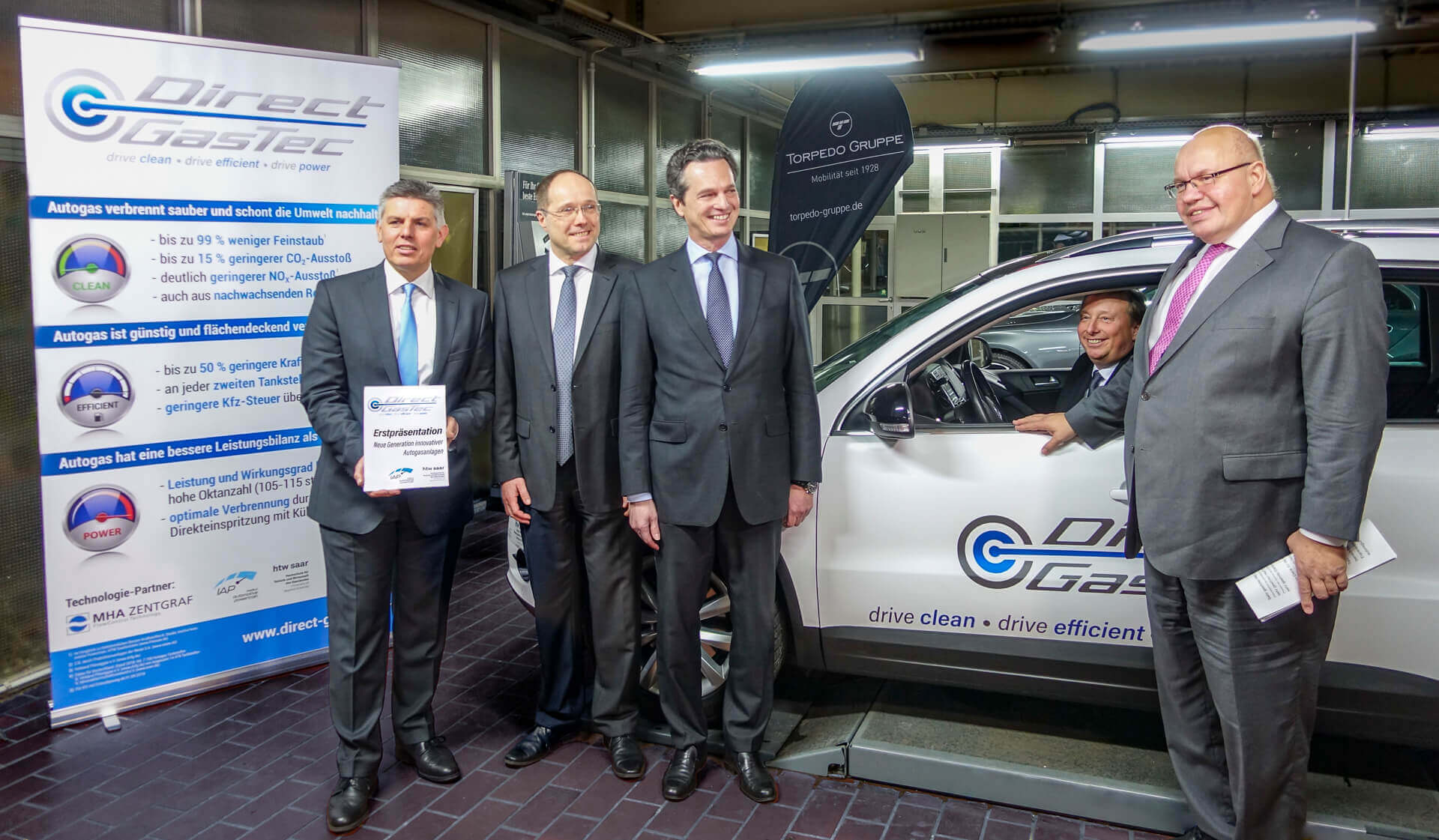 Neue Generation innovativer Autogasanlagen Made in Saarland