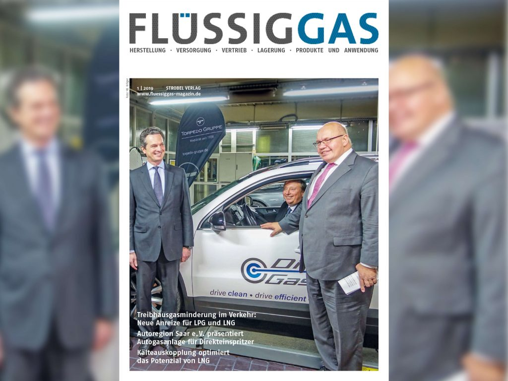 Flüssiggas Magazin 01/2019
