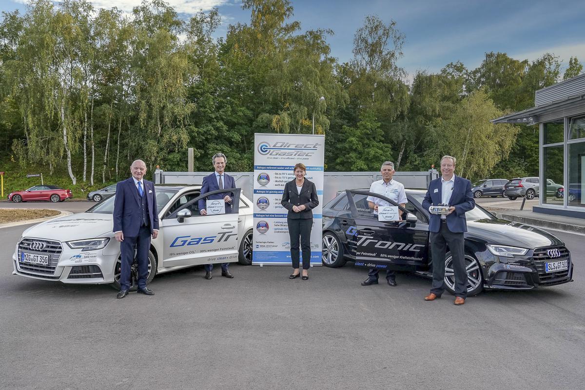 VDA Präsidentin Hildegard Müller begleitet Verkaufsstart der GasTronic
