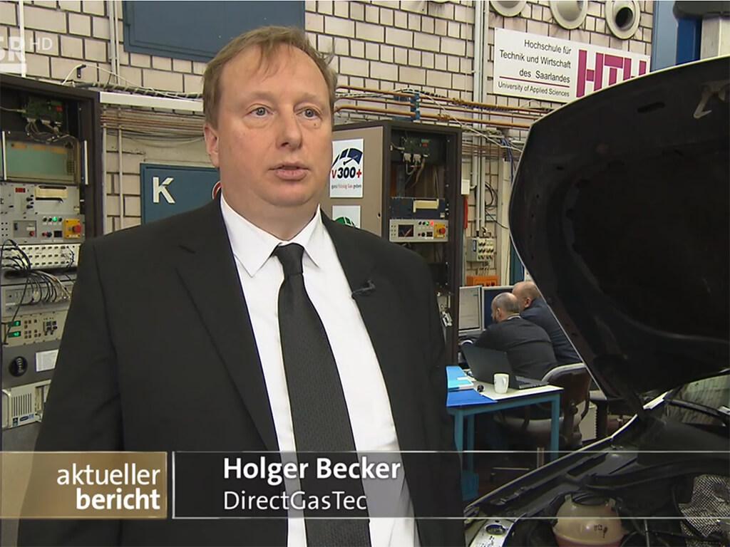 TV-Bericht des SR im aktuellen Bericht - saubere Gasmotoren